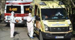 coronavirus ambulance hungary