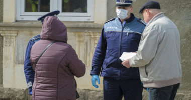 coronavirus Romania police