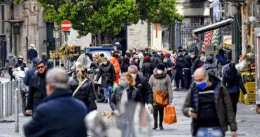 coronavirus italian street