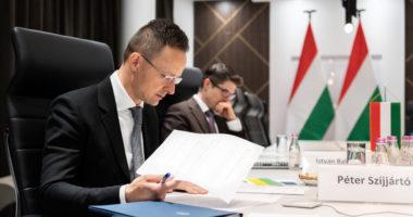 hungary-foreign-minister-Szijjártó