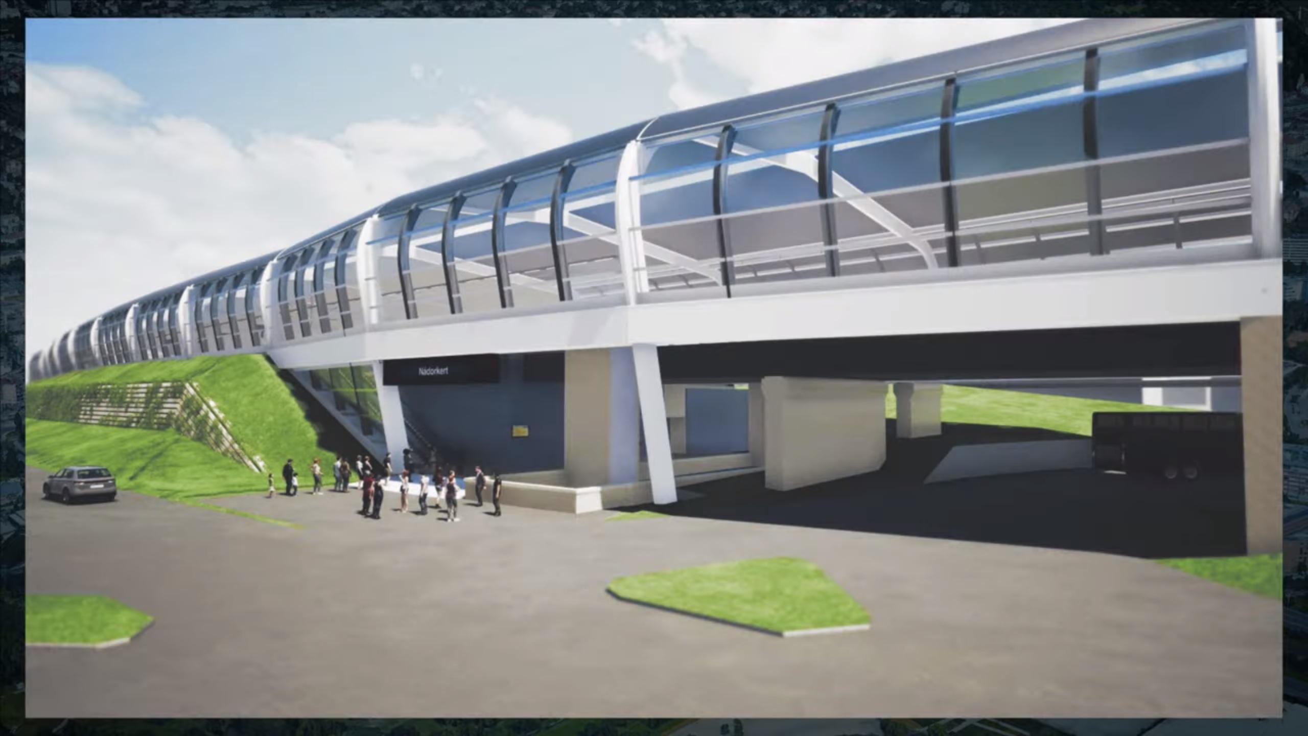 nádorkert station budapest railway 2020