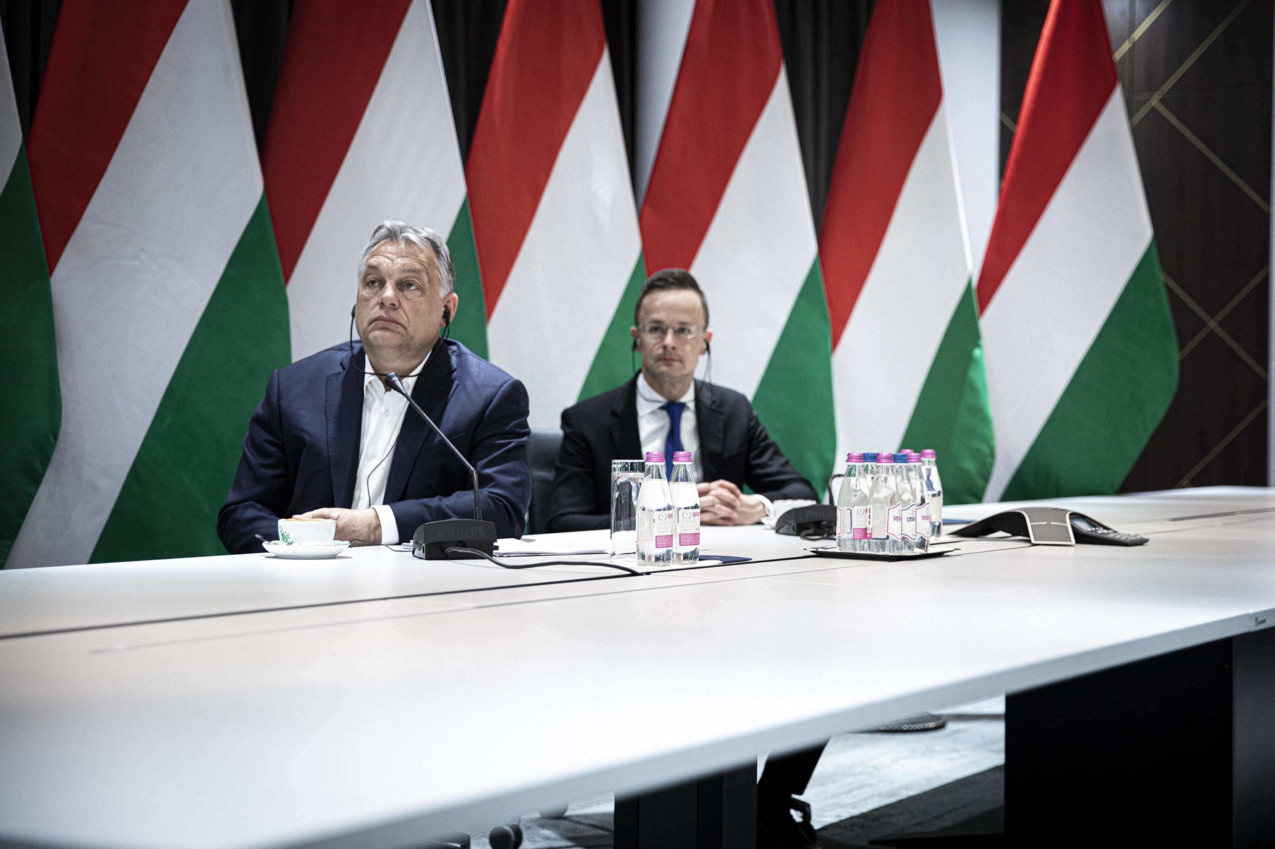 orbán szijjártó meeting