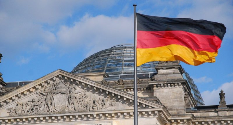 reichstag-germany berlin flag