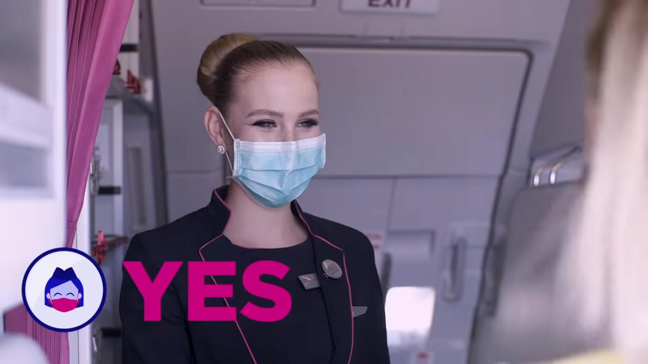 wizz air coronavirus mask