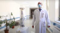 Önjáró-fertőtlenítő-robot-Semmelweis-Egyetem