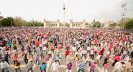 Budapest flashmob