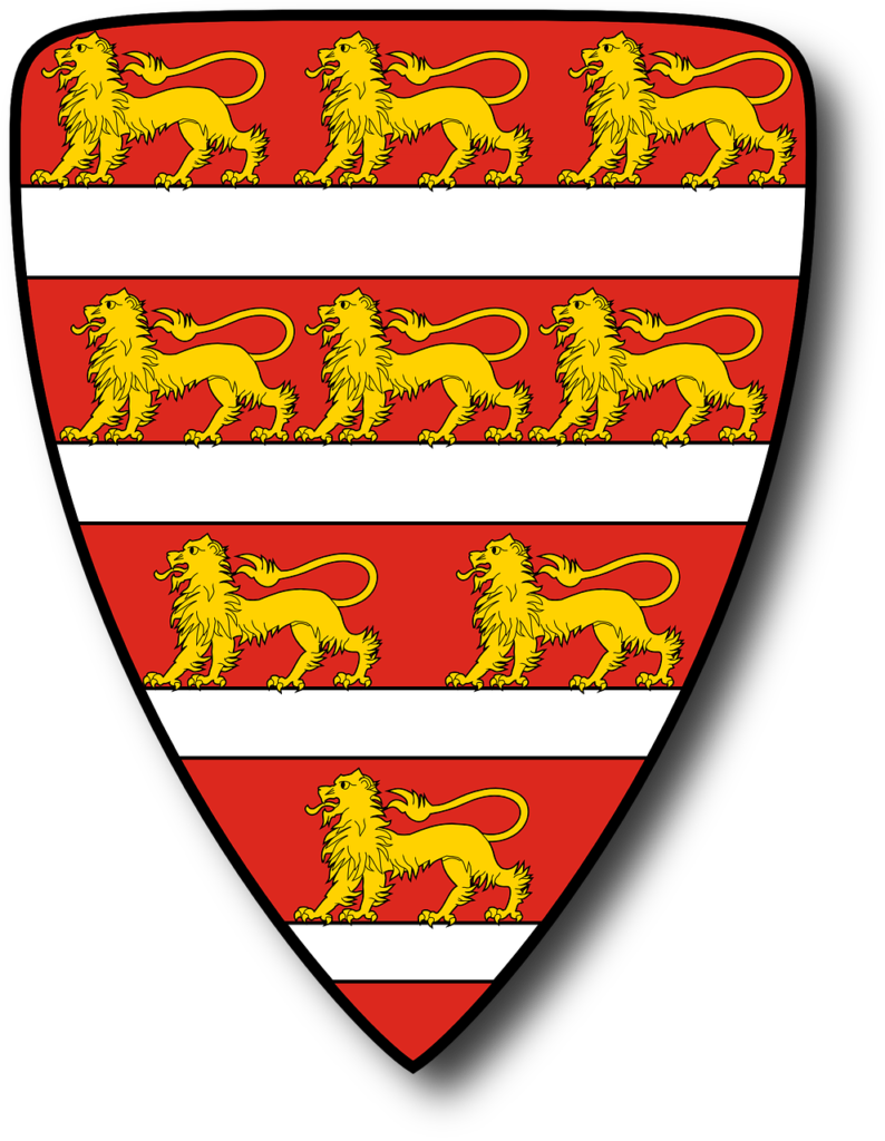 Coat of arms-Árpád stripes with lions