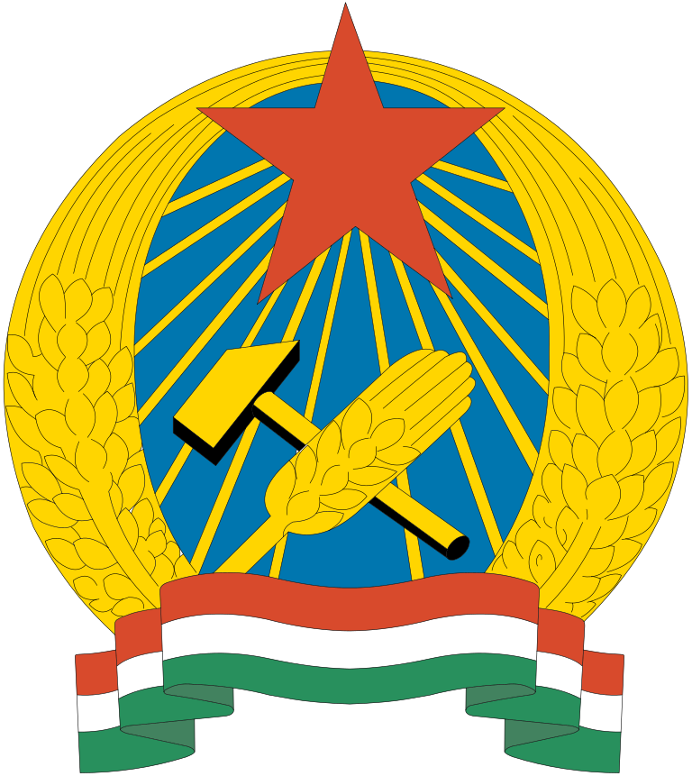 Coat of arms of Hungary-Rákosi