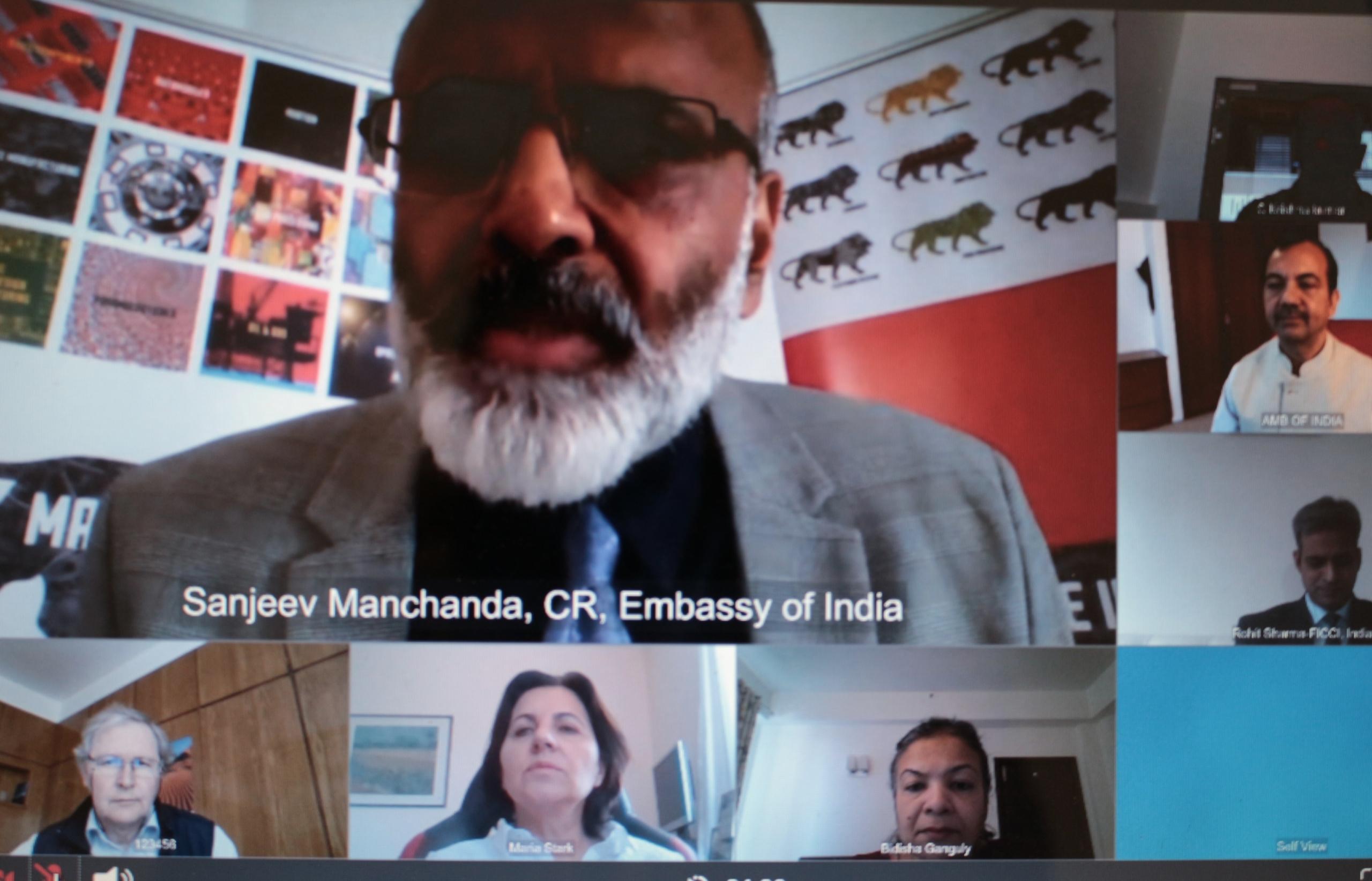 Embassy of India, Budapest webinar