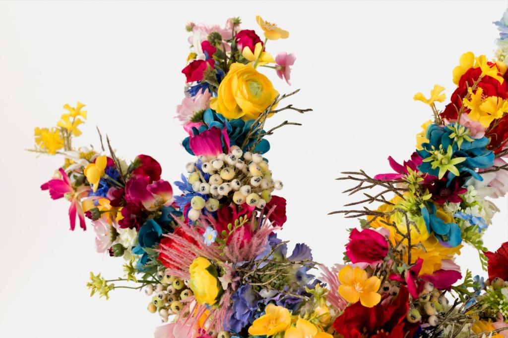 Flower Dress Closeup Virág Ruha Közeli