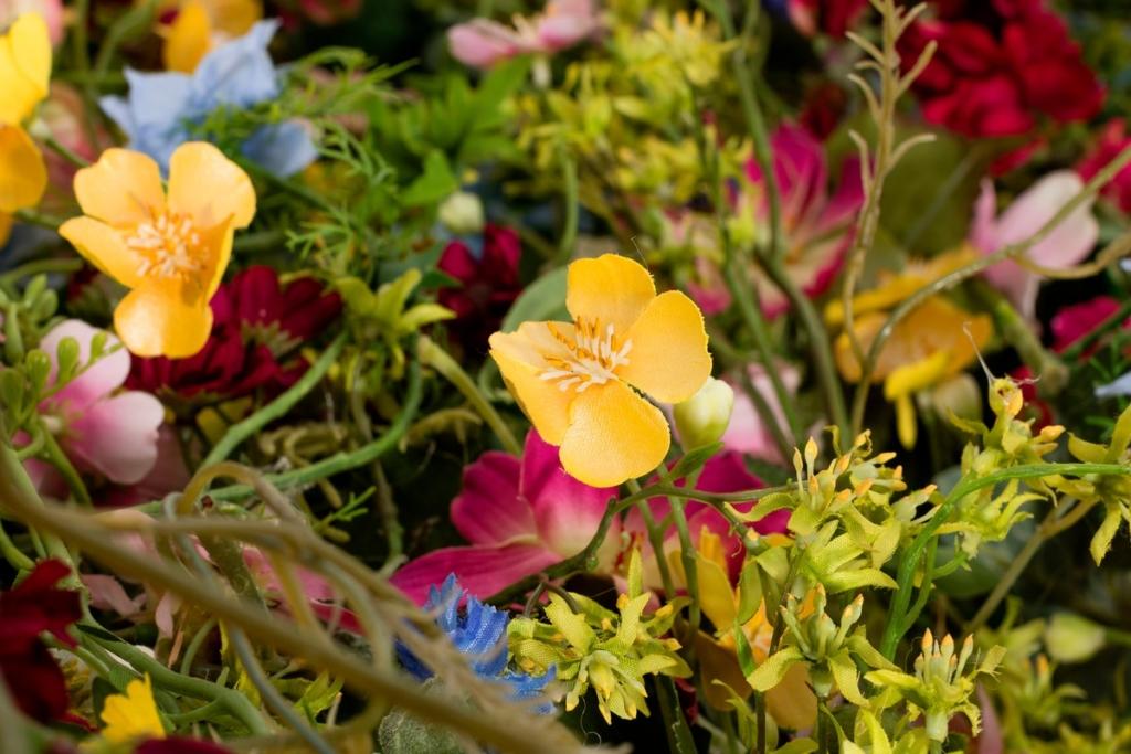 Flower Dress Silk Virág Ruha Művirág