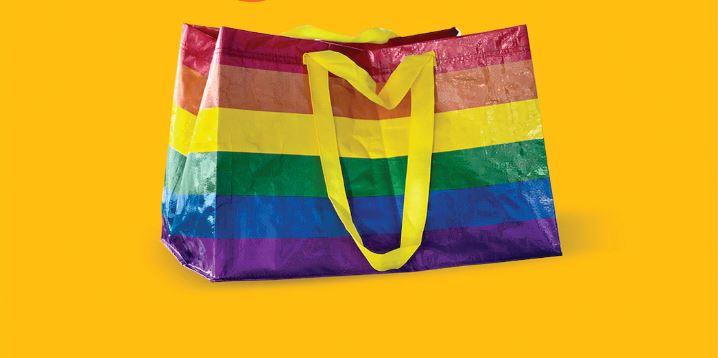 Rainbow Shopping Bag IKEA