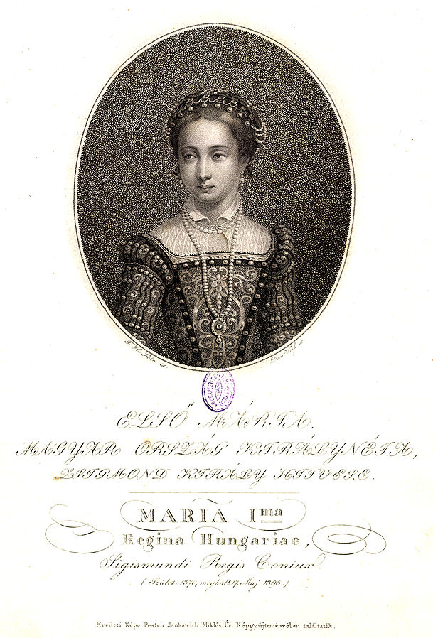 Mary, Queen of Hungary-I. Mária