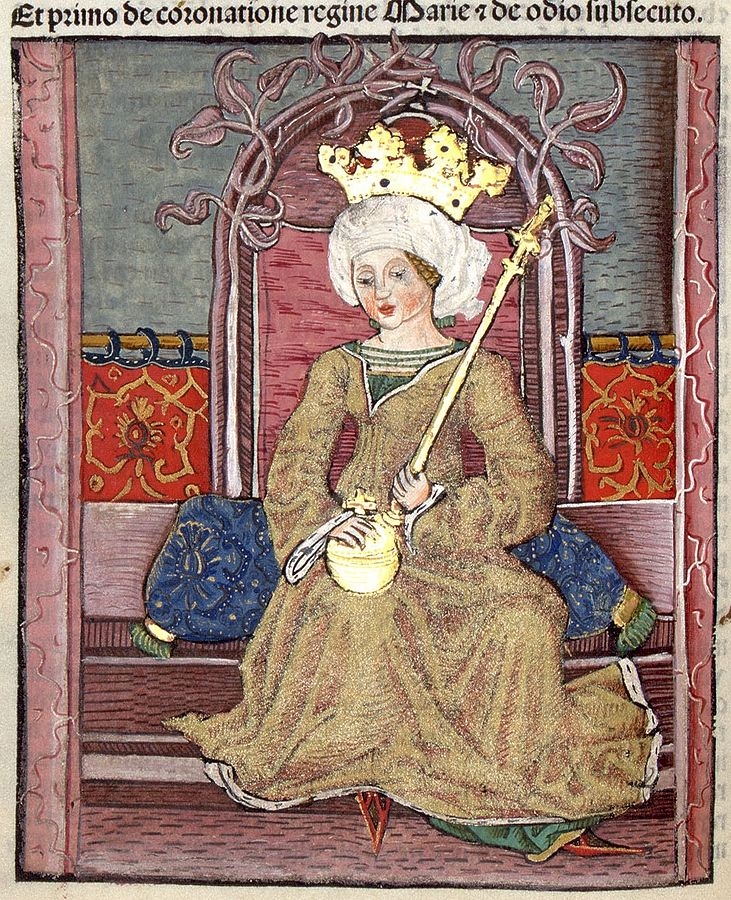 Mary, Queen of Hungary in Thuróczi's Chronicle-I. Mária