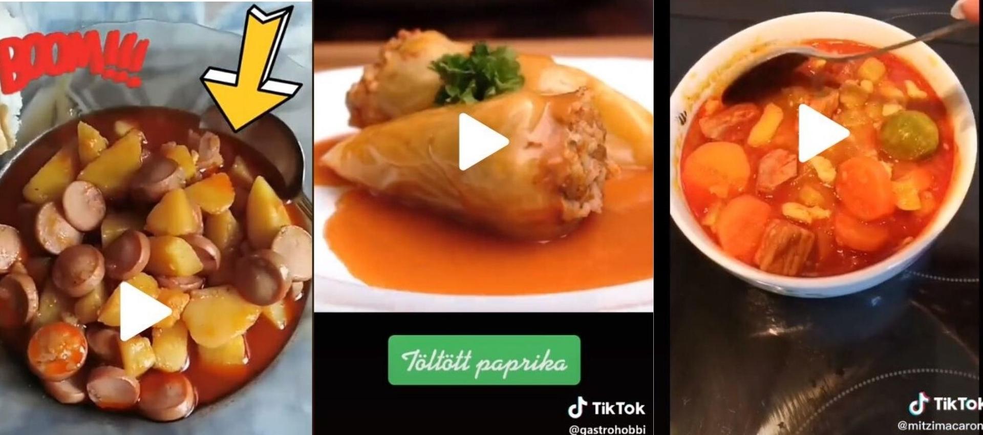 TikTok recipes