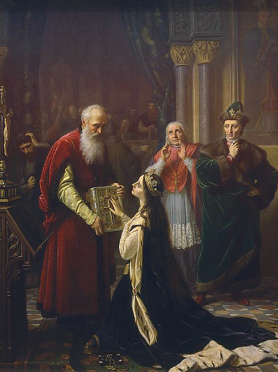 Queen Jadwiga of Poland-I. Hedvig