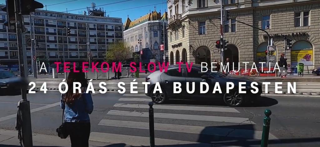 Telekom 24-hour walk in Budapest