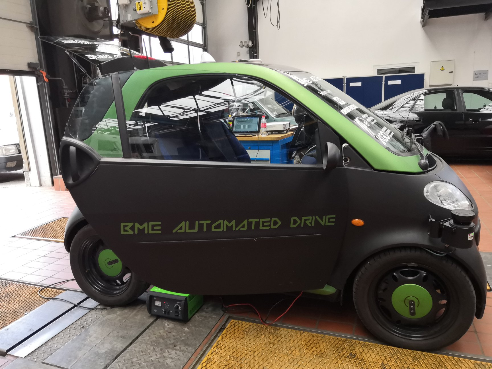 BME Automated Drive, car, Hungary