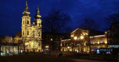 Batthyány Square Tér Éjszaka Night