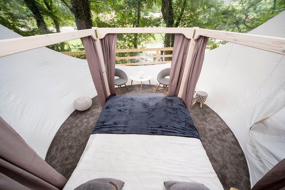 Buborék Bubbles Ágy Bed View Kilátás