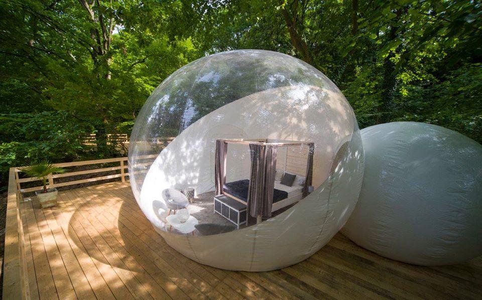 Buborék Bubbles Kívülről Outside View