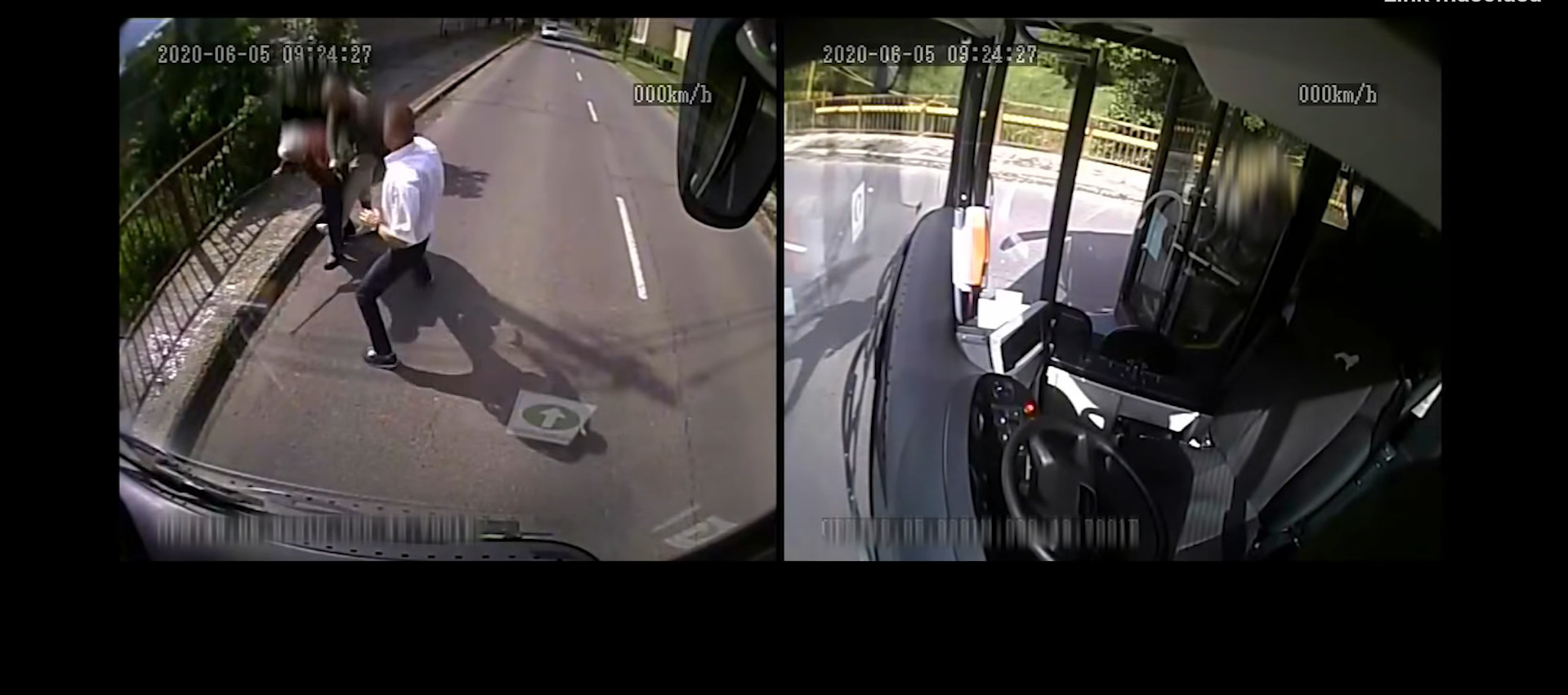 Bus driver-robbery attempt