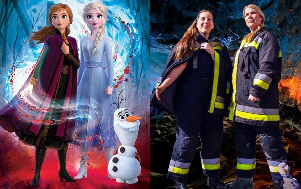 Children's Day Hungarian Firefighters Disney Frozen