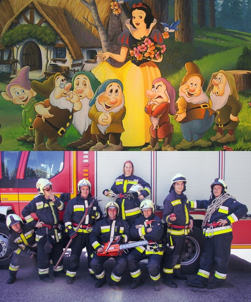 Children's Day Hungarian Firefighters Disney Snow White