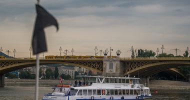 Danube-tourist-boat-millenium budapest