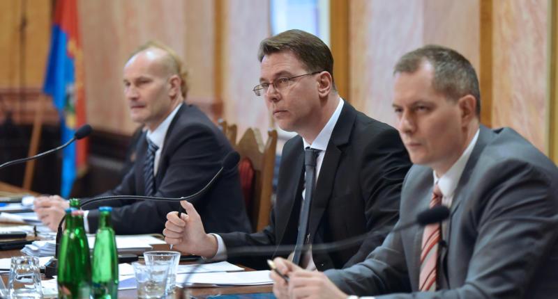 Eger Mayor Ádám Mirkóczki