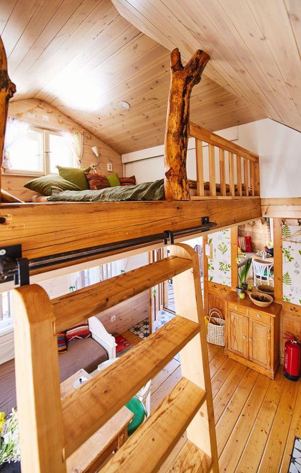 Faház Treehouse Hálószoba Bedroom