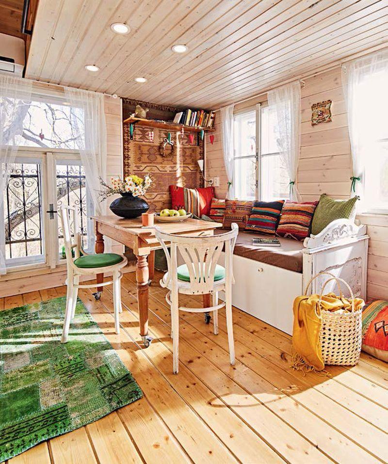 Faház Treehouse Nappali Living Room