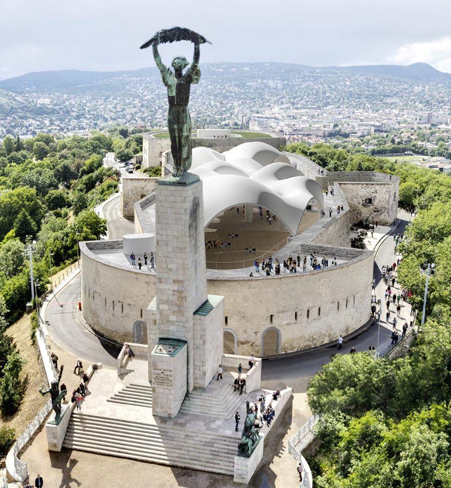 Gellért Hill, Budapest, Statue of Liberty, Hungary