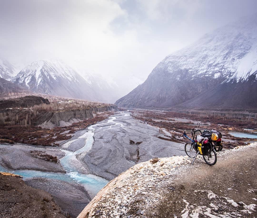Hungarian cyclist India