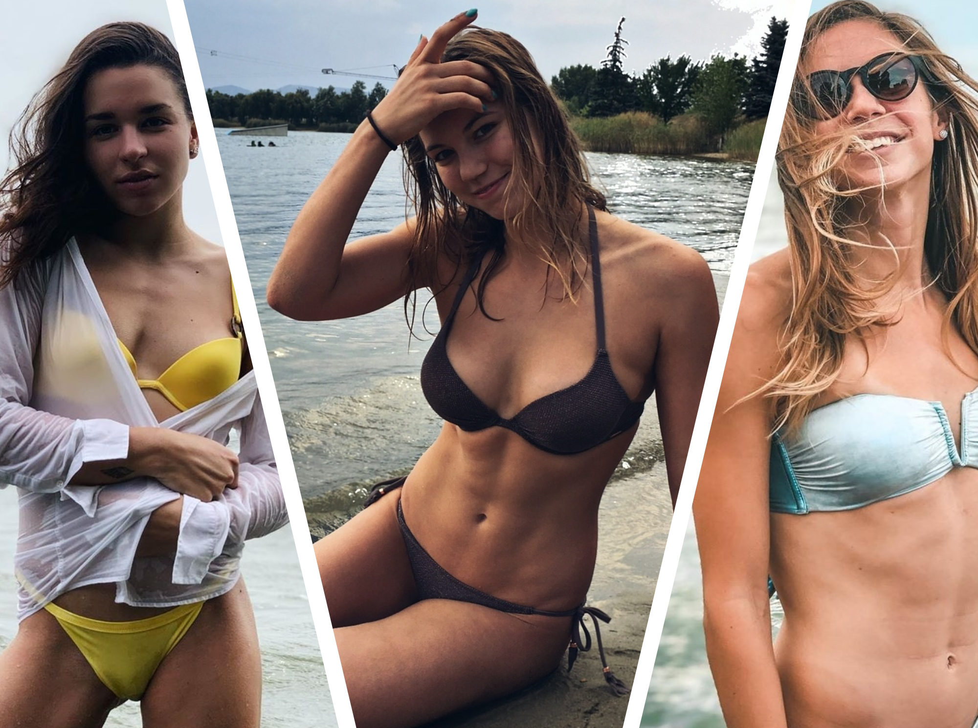 Sexiest Hungarian female swimmers