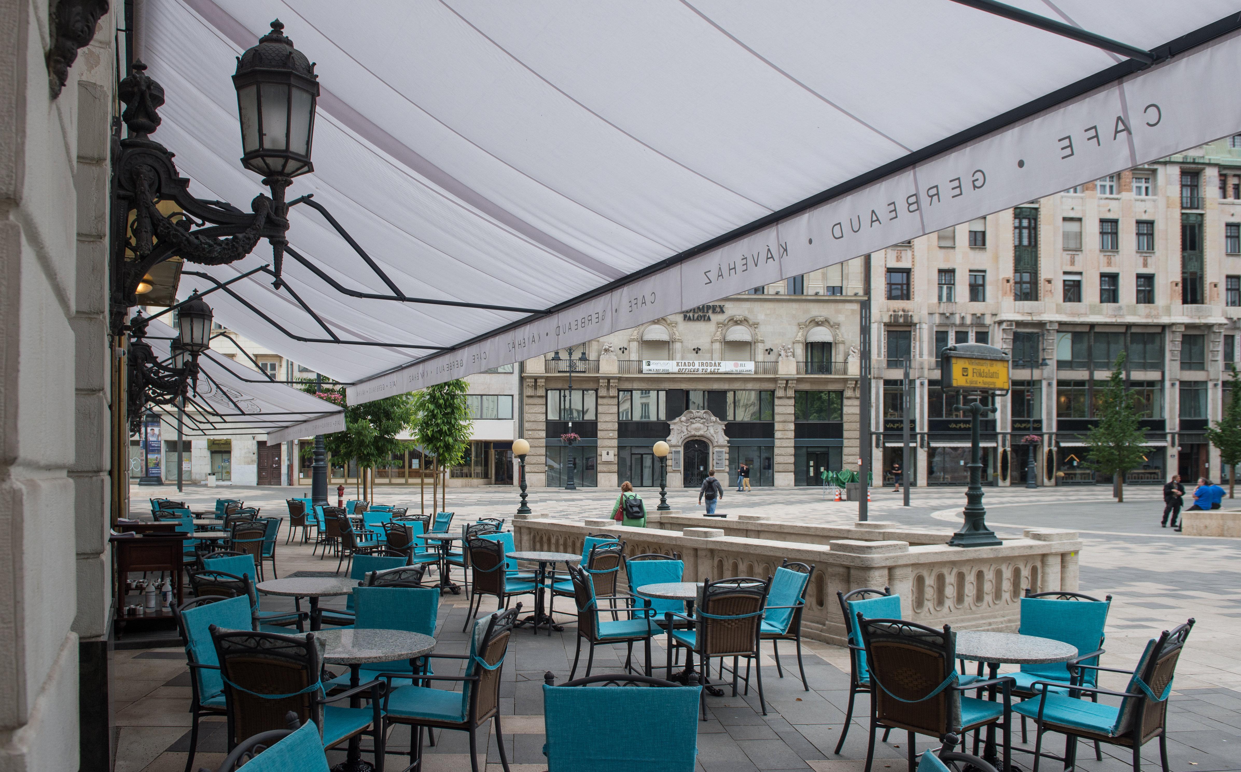 Történelmi kávéházak-Gerbeaud Cukrászda és Kávéház