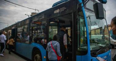 budapest transport bus