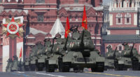 ceremony celebrating the 75th anniversary of the victory of the 1941-1945 Great Patriotic War in Moscow's Red Square