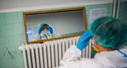 coronavirus-mask-hospital-hungary
