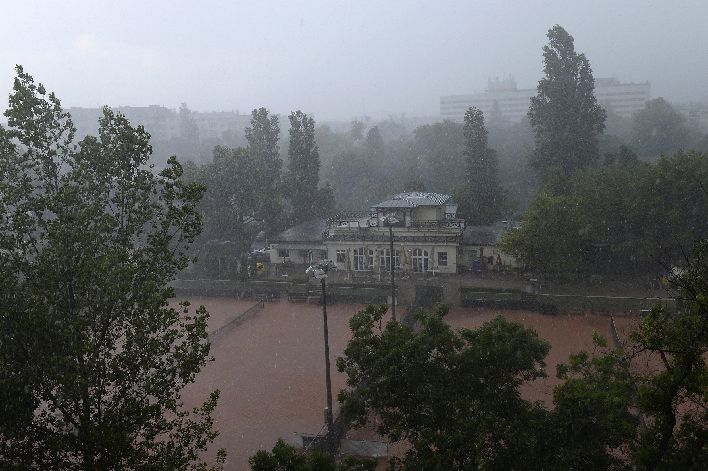 storm in hungary