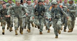 us army run
