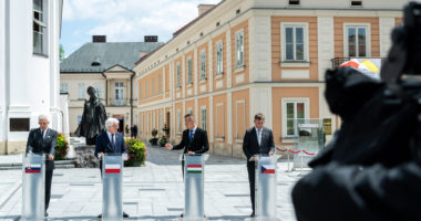 Visegrad Group meeting of foreign ministers