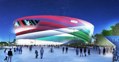 handball stadium hungary