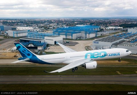 Avion Airbus Hongrie