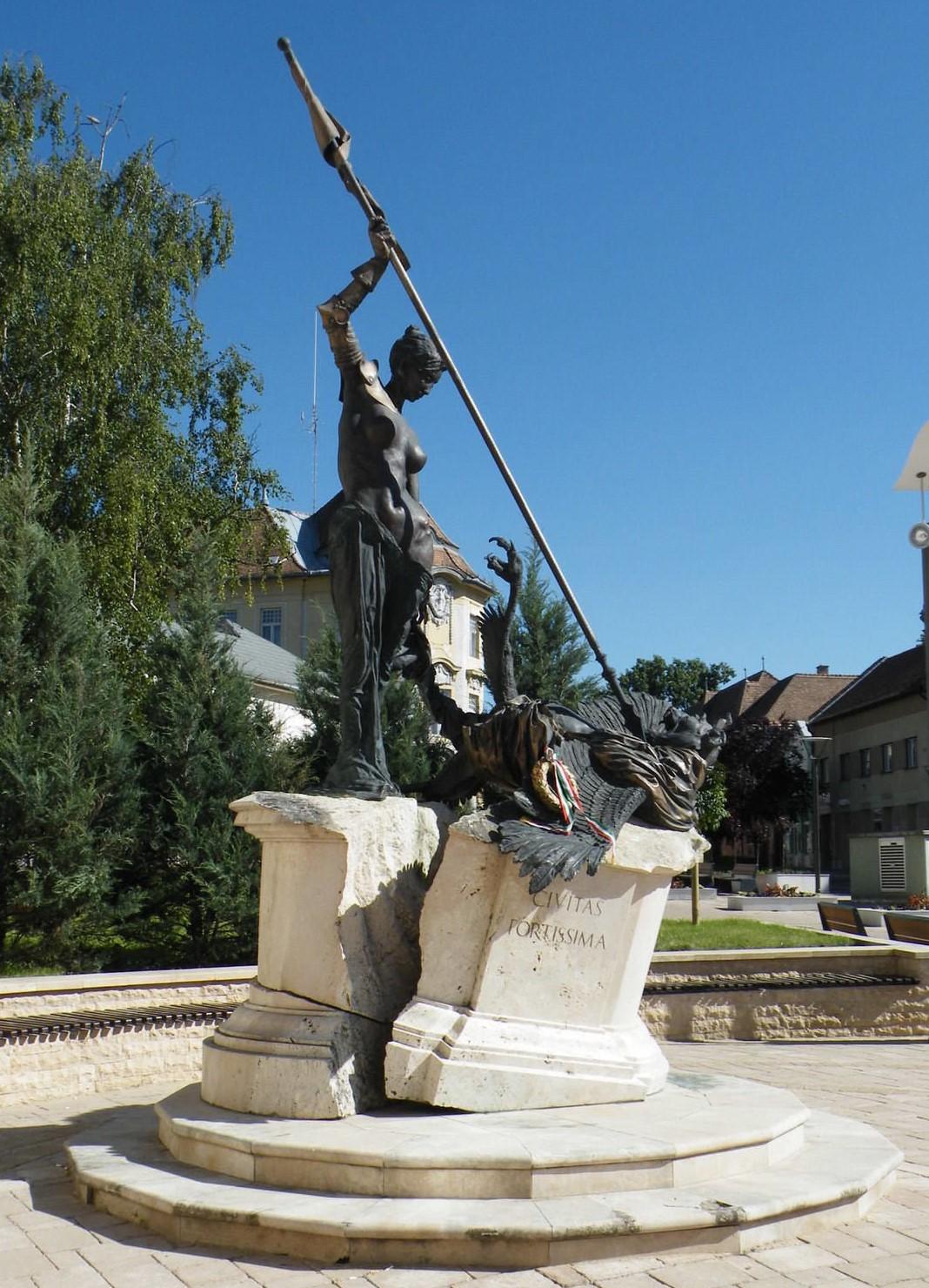 Civitas Fortissima Monument Emlékmű