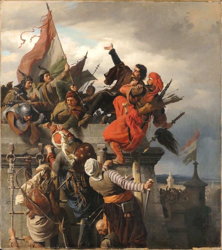Dugovics Titusz Önfeláldozása Sacrifice