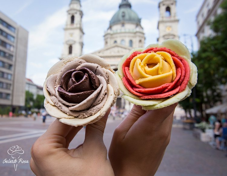 Gelarto Rosa ice cream