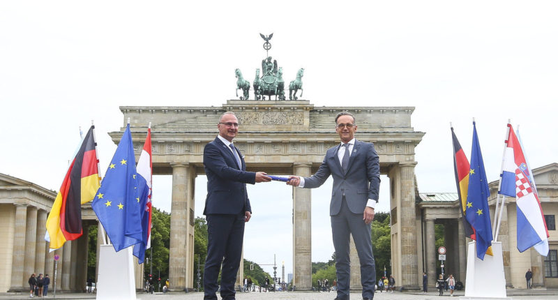Germany takes over EU presidency in difficult time marked by pandemic