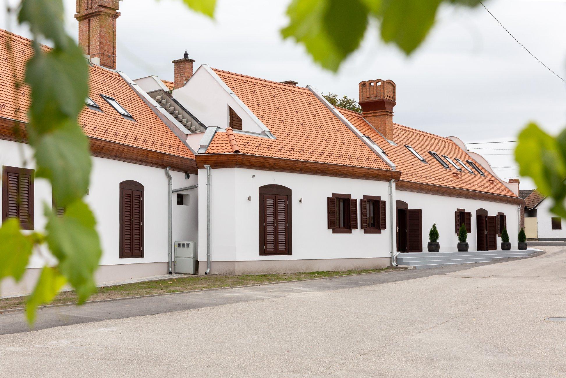 Hajós, Hungary, wine cellars