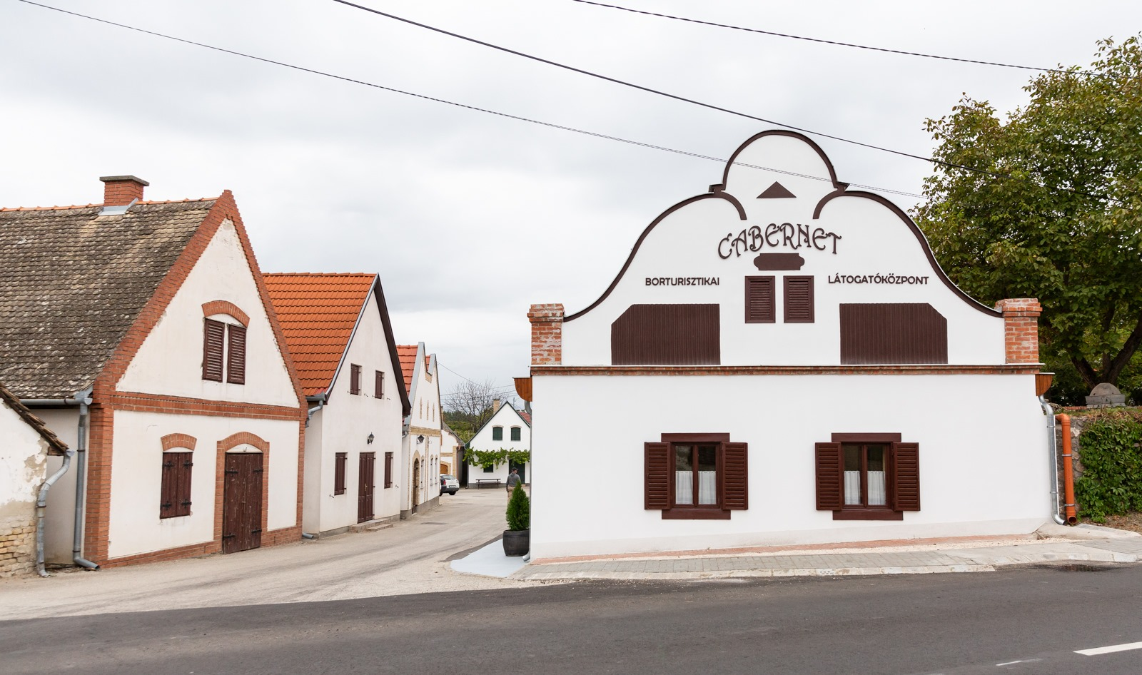 Hajós, wine cellars, Hungary